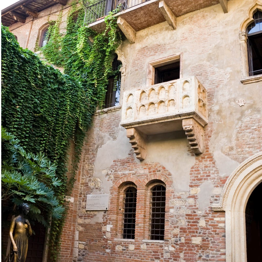 Verona the city of lovers for Balcony history